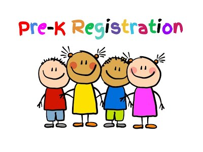 Pre-K Registration Open NOW!
